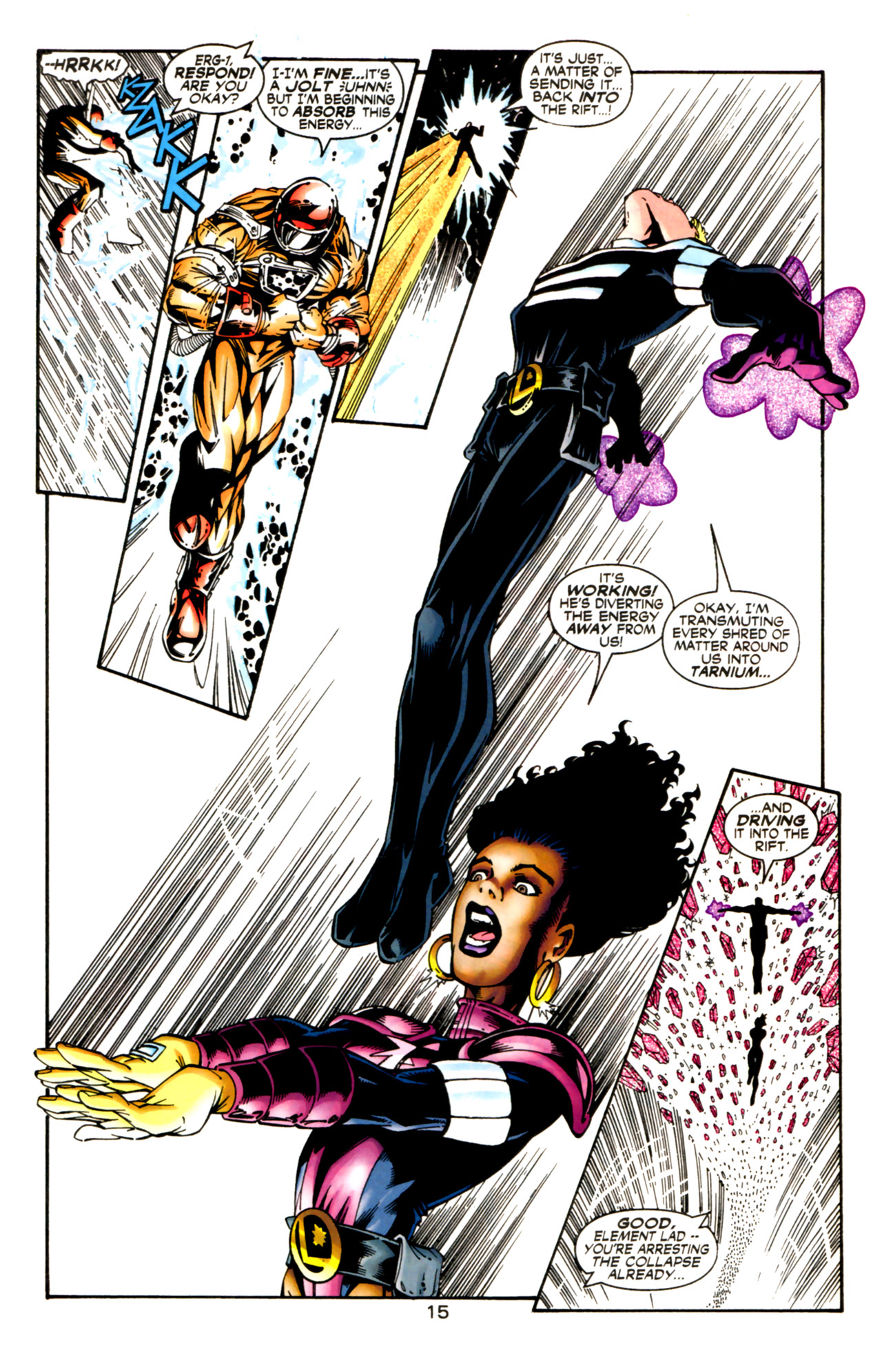 Legion of Super-Heroes (1989) 125 Page 15