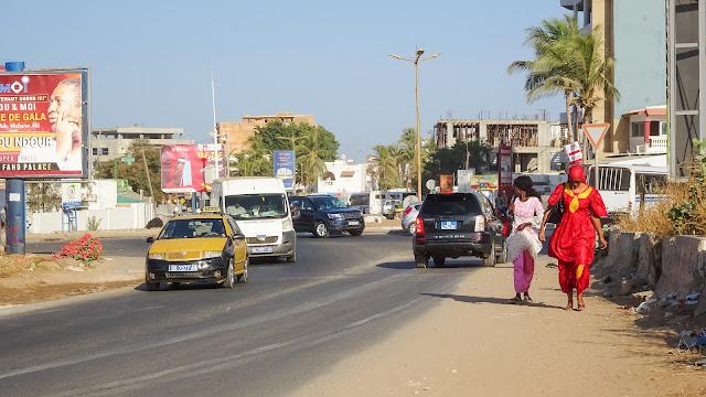 Streets towards the beach