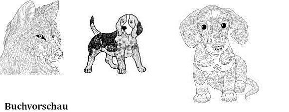 Ausmalbücher Für Erwachsene Hunde Zum Ausmalen Und Relaxen