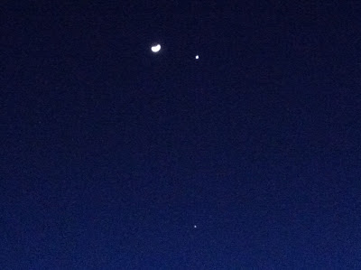 iphone astrophotography moon venus jupiter