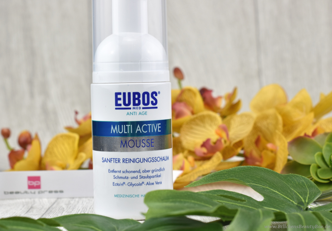beautypress News Box Juni & Juli 2018 - EUBOS - Anti Age Hyaluron Multi Active Mousse