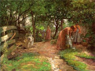 Джон Оттис Адамс John Ottis Adams  Ферма 1894 The Farm, Prarie Dell