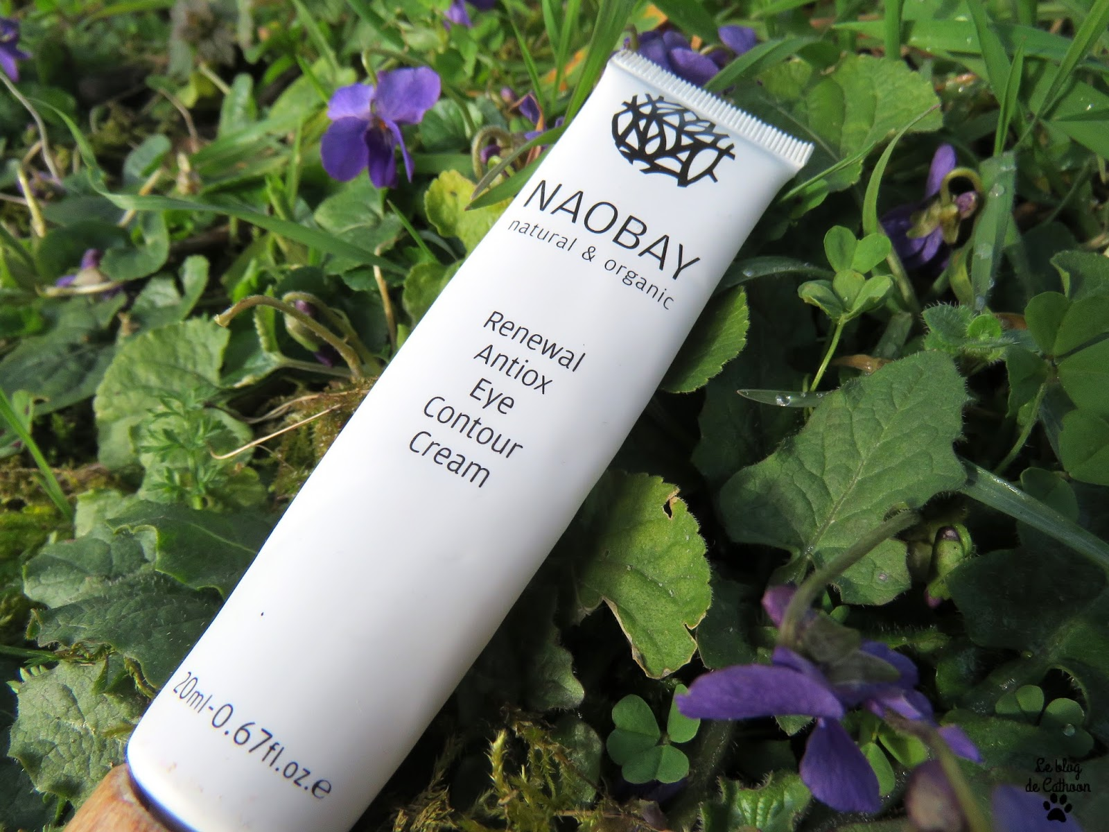 Renewal Antiox Eye Contour Cream - Naobay Naturel & Organic