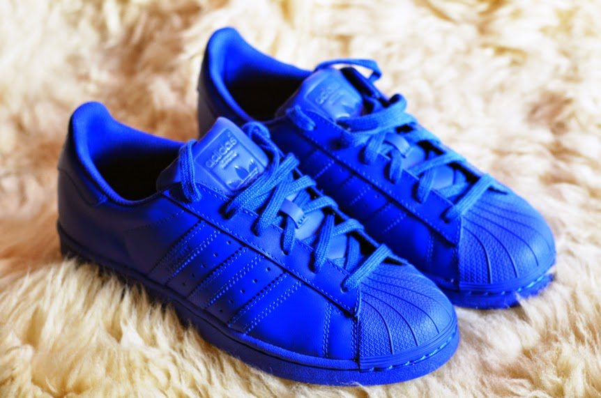 NEW IN: ADIDAS SUPERSTAR SUPERCOLOR 'BOLD BLUE'
