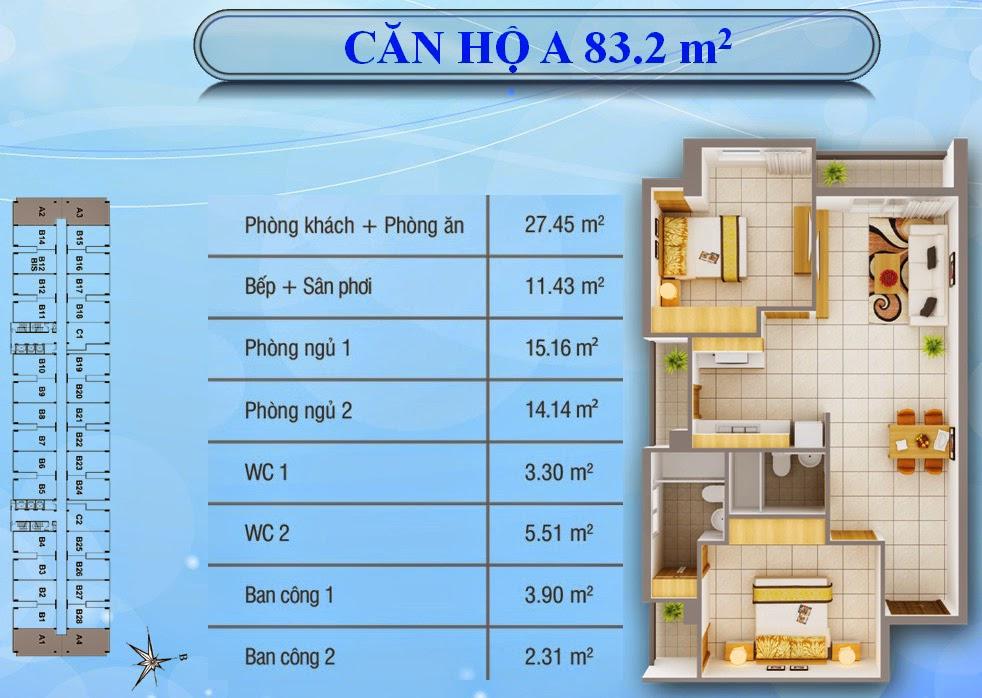 $$$ Với 980tr/ 63m2 sở hữu CC 8x Plus Trường Chinh- đầu Quý 3/ 2016 giao nhà hoàn