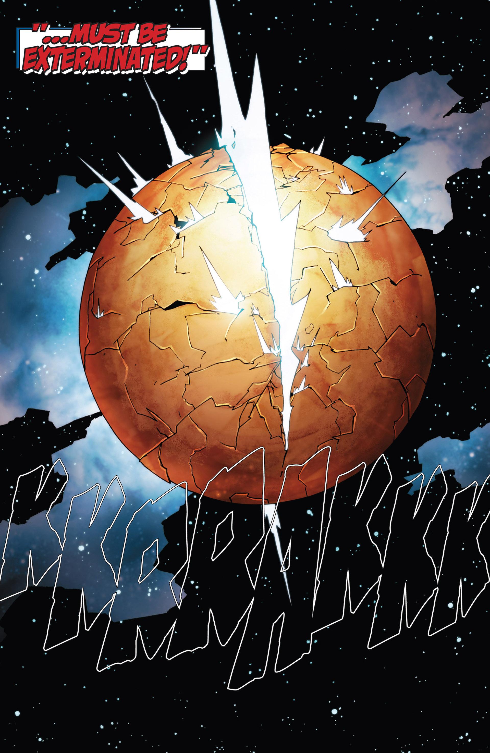 Read online Annihilation: Heralds Of Galactus comic -  Issue #1 - 22