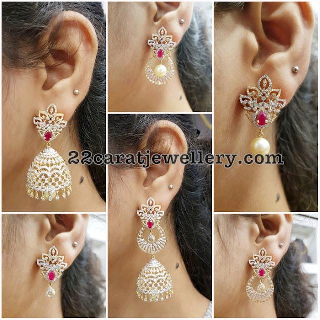 Multiple Ways Use Diamond Earrings