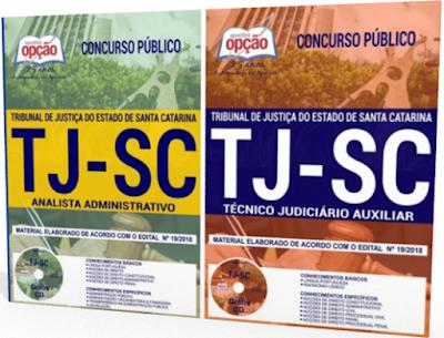 Apostilas do Concurso TJ SC 2018 - Analista Administrativo