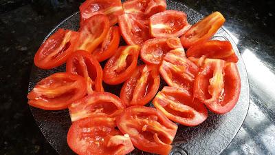 Tomates secos caseiros