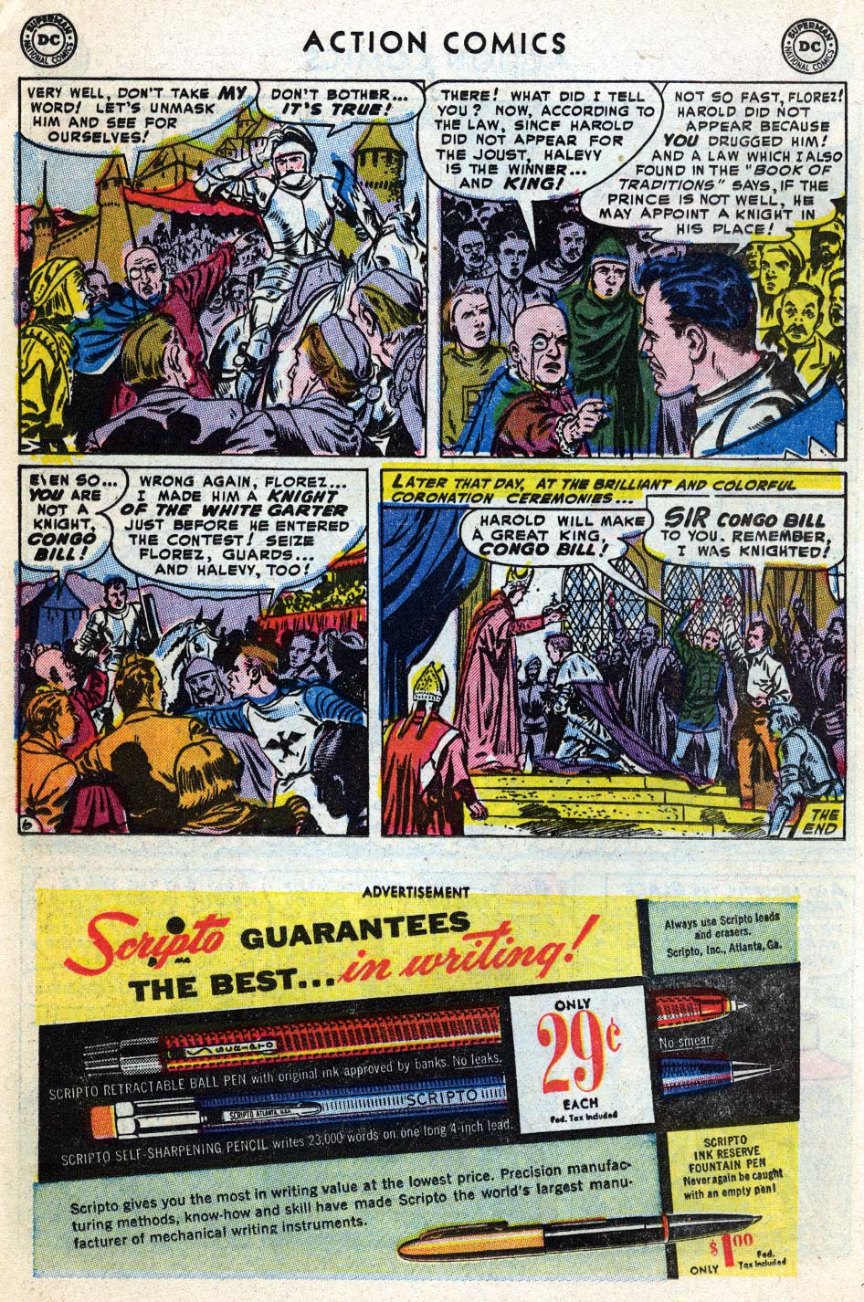 Action Comics (1938) 187 Page 21