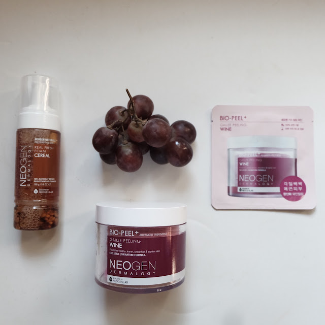 review neogen bio peel gauze peeling wine