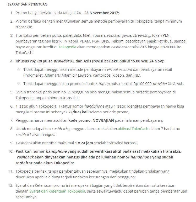 Tokopedia Promo Diskon 20 Untuk Pembayaran Produk Digital Katalog Promo Terbaru