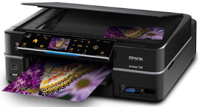 MicroPiezo technology scientific discipline provides the finest color together with special without sacrificing speed Epson Artisan 725 Printer Driver Downloads