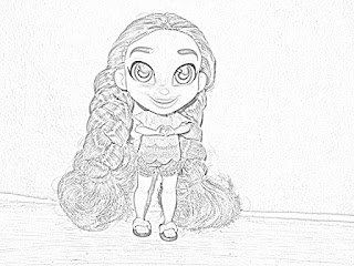 Hairdorables Dolls coloring pages coloring.filminspector.com