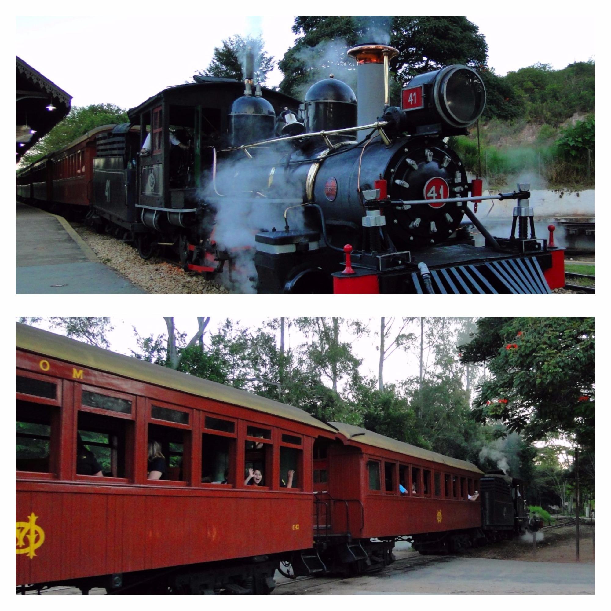 Trem Tiradentes para São João Del Rey