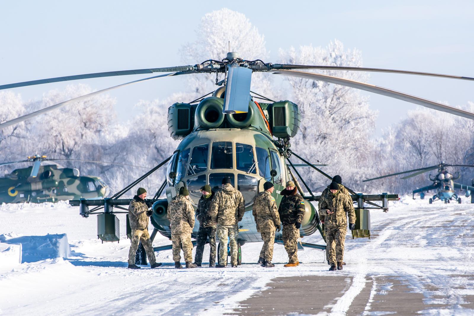Авіація ЗСУ тренується ставити міни з гелікоптерів