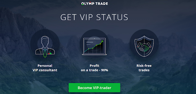 Olymp Trade india- VIP account benefits, is it worth?