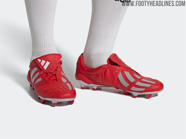 Adidas release Red Predator Mania remakes and they're