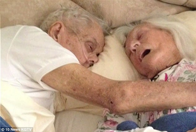 This Old Couple Died Hours Apart, Their Last Embrace Will Touch Your Heart!
