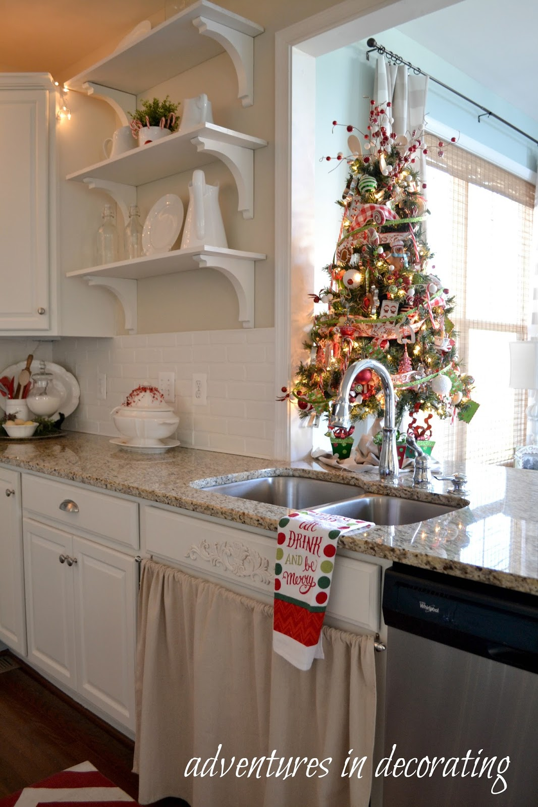 Adventures In Decorating Our 2015 Fall Kitchen: Adventures In Decorating: Our 2015 Christmas Kitchen