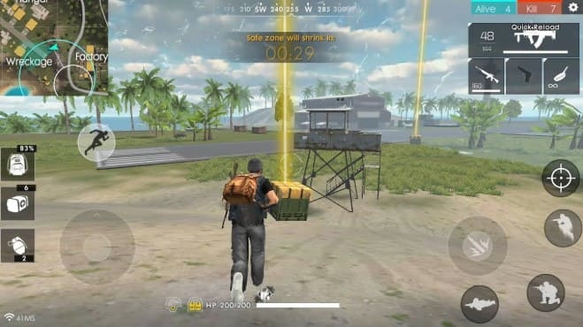 Air Drop Free Fire