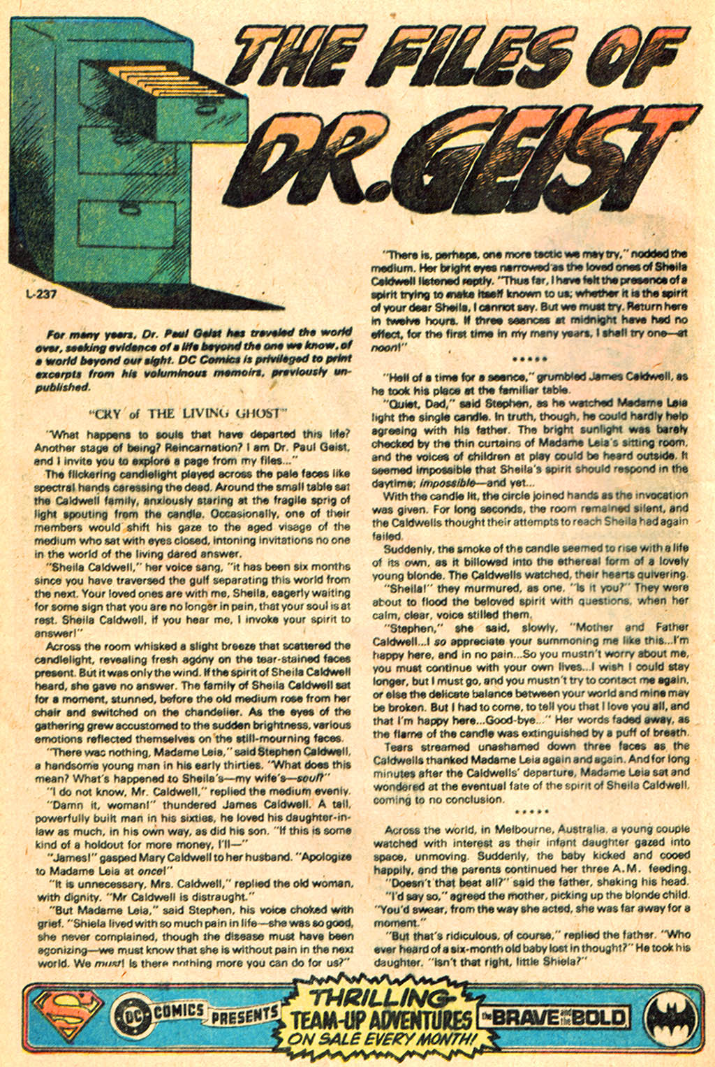 Read online Ghosts comic -  Issue #76 - 10