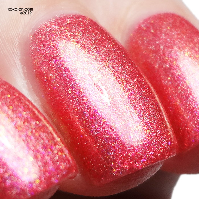 xoxoJen's swatch of Rogue Lacquer Prawn Cocktail