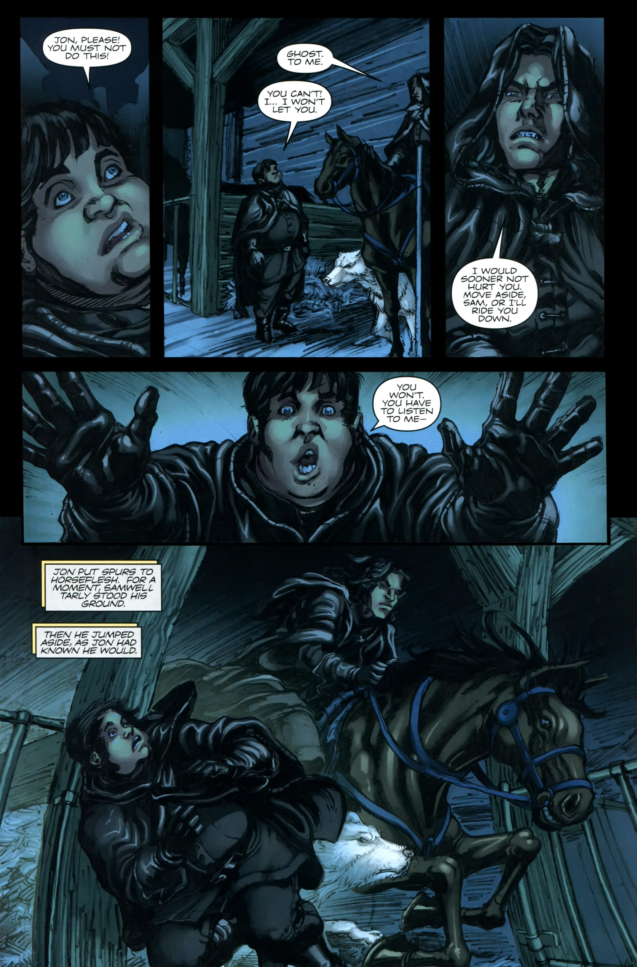 Read online A Game Of Thrones comic -  Issue #24 - 3
