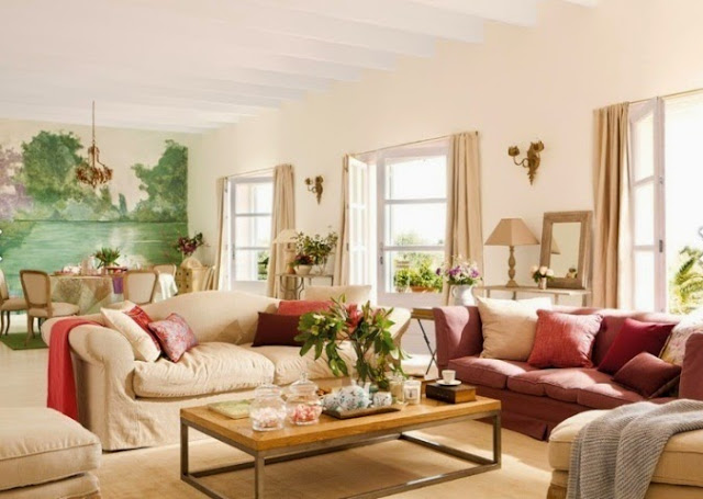 relaxing colors to paint a living room