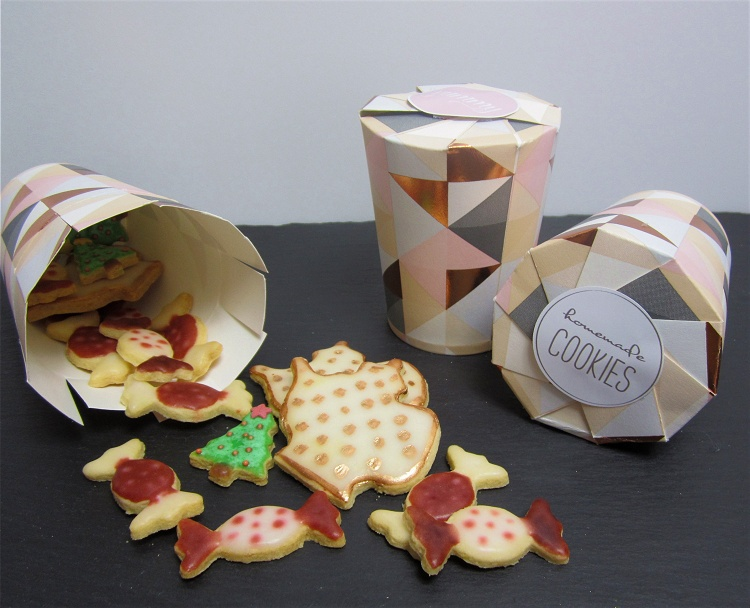 diy tutorial kekse pl tzchen h bsch verpackt geschenkverpackung f r kekse pl tzchen s und. Black Bedroom Furniture Sets. Home Design Ideas