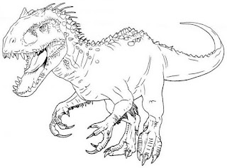 T-Rex Coloring Pages For Print Online
