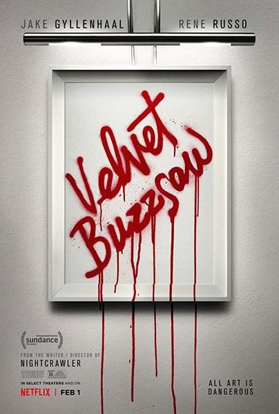 J B  Spins: Sundance '19: Velvet Buzzsaw