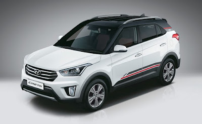 Hyundai Creta 1st Anniversary Edition top black shades Hd Images