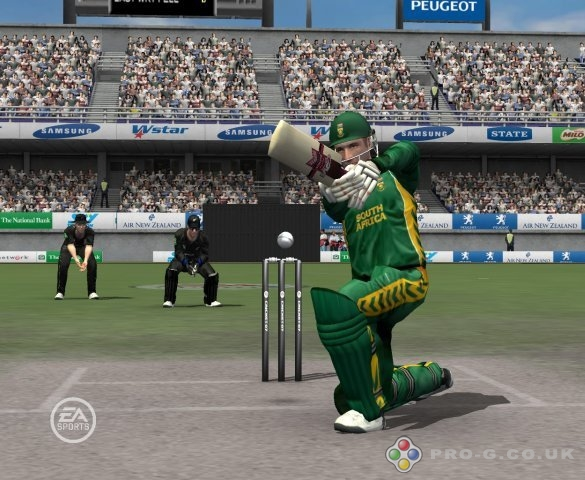 ea sports cricket 07 straight Drive
