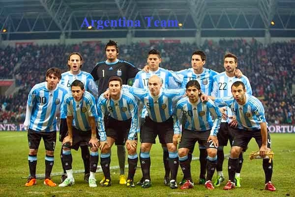 Argentinian Football Team of 2014