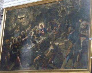 La última cena, Iglesia de San Giorgio Maggiore.