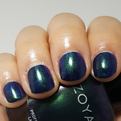 Zoya Enchanted Holiday 2016 - Olivera | Kat Stays Polished