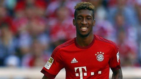 Kingsley Coman tiền vệ cánh kiêm tiền đạo cho câu lạc bộ Bayern München