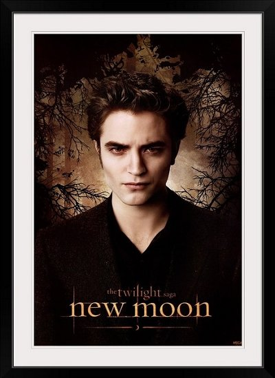 "Twilight Saga: New Moon (2009)"" Black Framed Art Print   twilight bedroom decorating ideas - twilight bedroom decor - twilight bedroom ideas  -  twilight saga home decor - twilight saga themed bedroom ideas - bedding ideas for a twilight bedroom  - twilight jacob bedroom ideas  -  twilight edward bedroom decorating ideas -  twilight bella swan bedroom ideas -  Twilight Saga Movie Posters  - Twilight themed bedroom for teens - movie themed bedroom ideas"