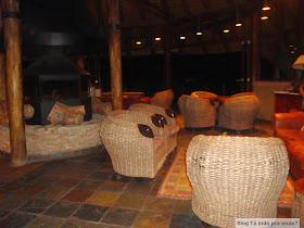 Restaurante do Buffelsdrift Game Lodge
