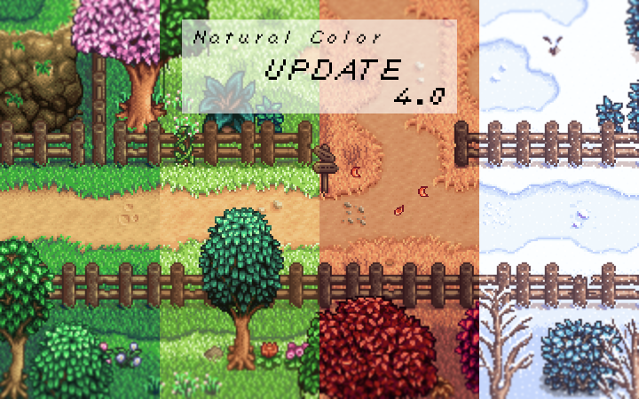 Natural Color - Reshade - Mod Stardew Valley