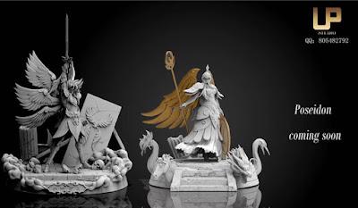 UP Studio muestra una nueva figura de Athena y anuncia una de Poseidón