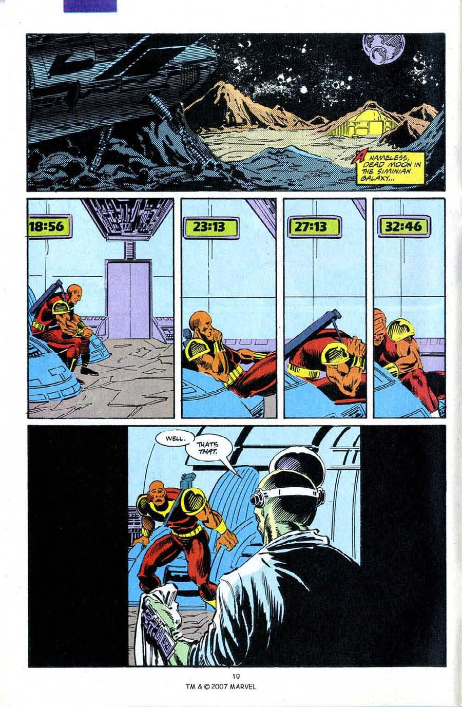 Read online Silver Surfer (1987) comic -  Issue #72 - 12