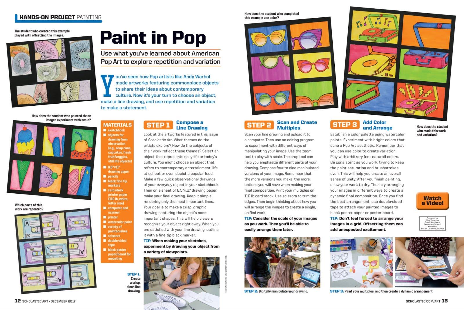 South Kamloops Secondary Visual Arts