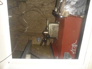 Wire Fire Damper Damage
