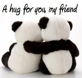 happy hug day sms images