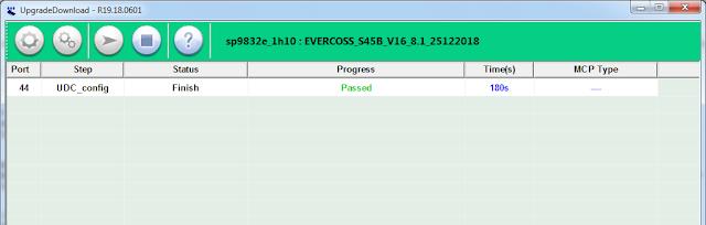 flash evercoss s45b done