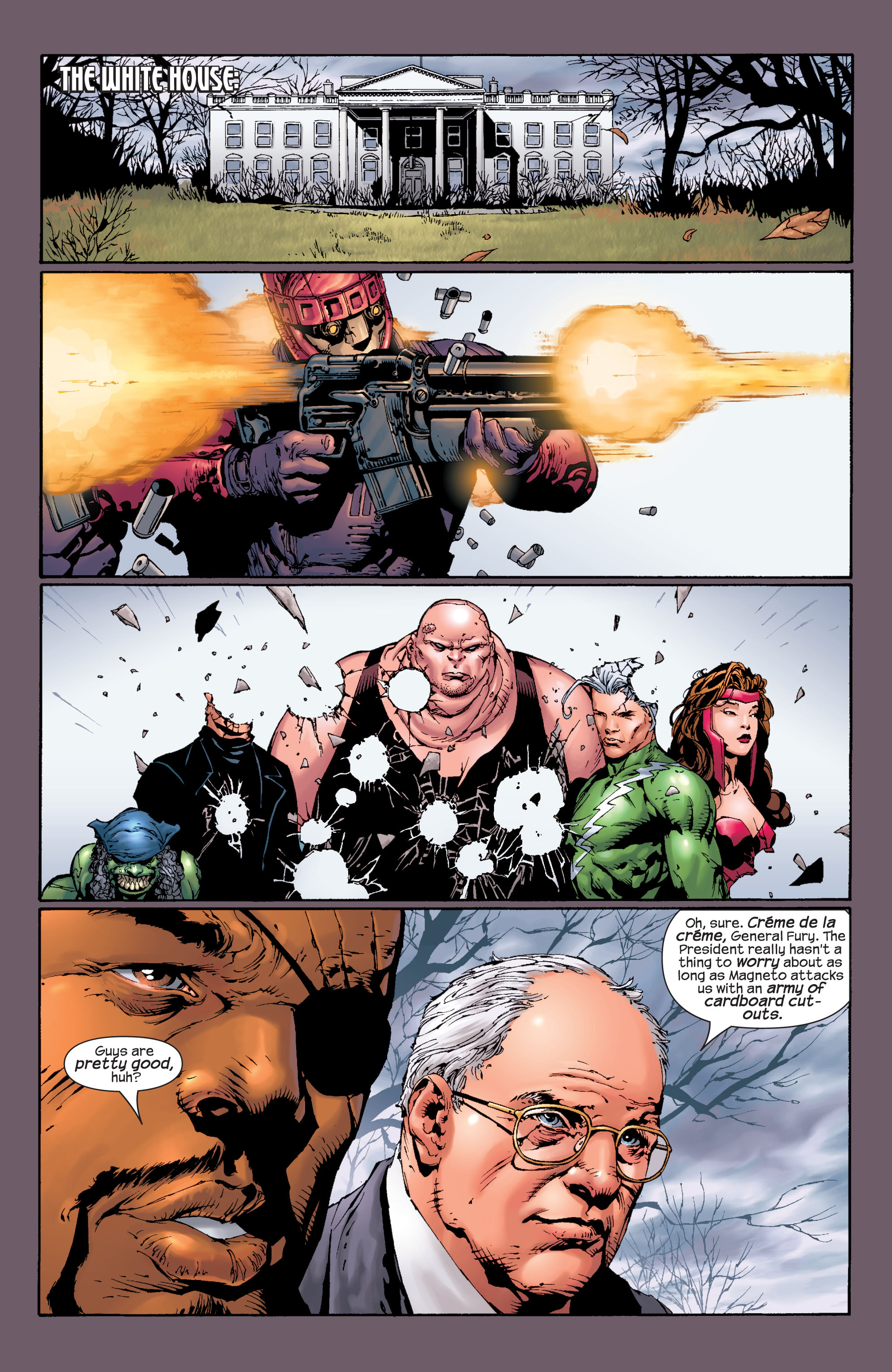 Read online Ultimate X-Men comic -  Issue #27 - 6