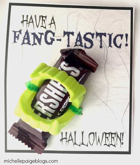 Fangtastic Halloween Printable Cards
