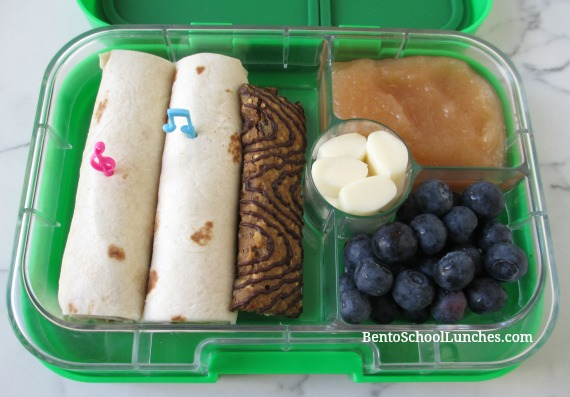 Tortilla Wraps Bento Lunch